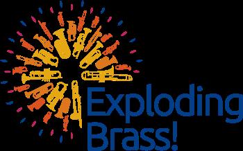 Exploding Brass - Logo - LightBG
