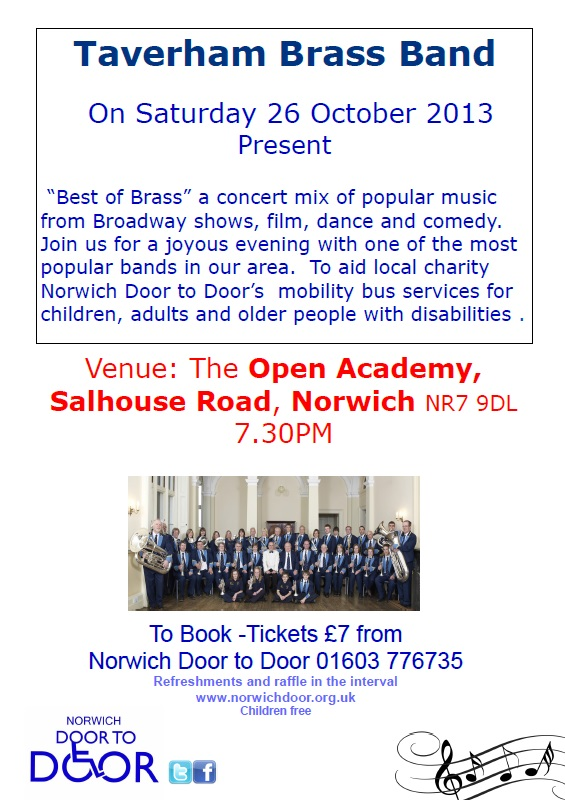 OPEN Academy concert - Saturday 26th October 2013 7.30pm